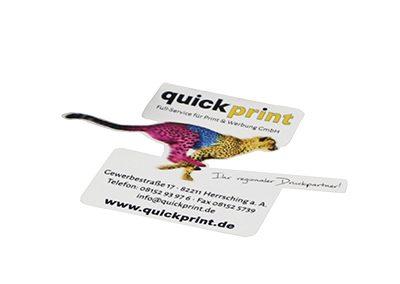Aufkleber / Etiketten / Sticker (Konturgeschnitten)